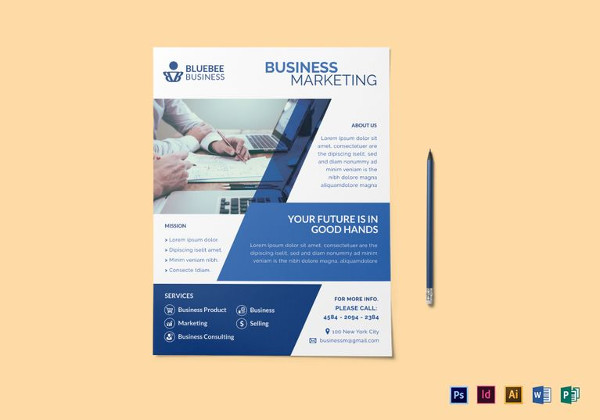 26+ Marketing Flyer Designs  Examples - PSD, AI, Vector EPS - marketing brochure