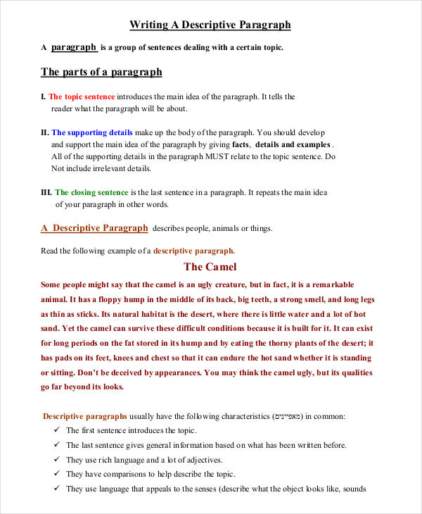descriptive essay examples about an object writing in pdf how to