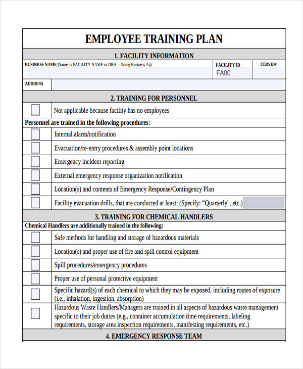 Sample Training Plan Daily Nurse Assistant Training Program - Sample Training Plan