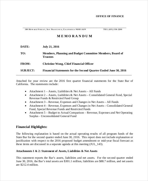 consolidated financial statement template