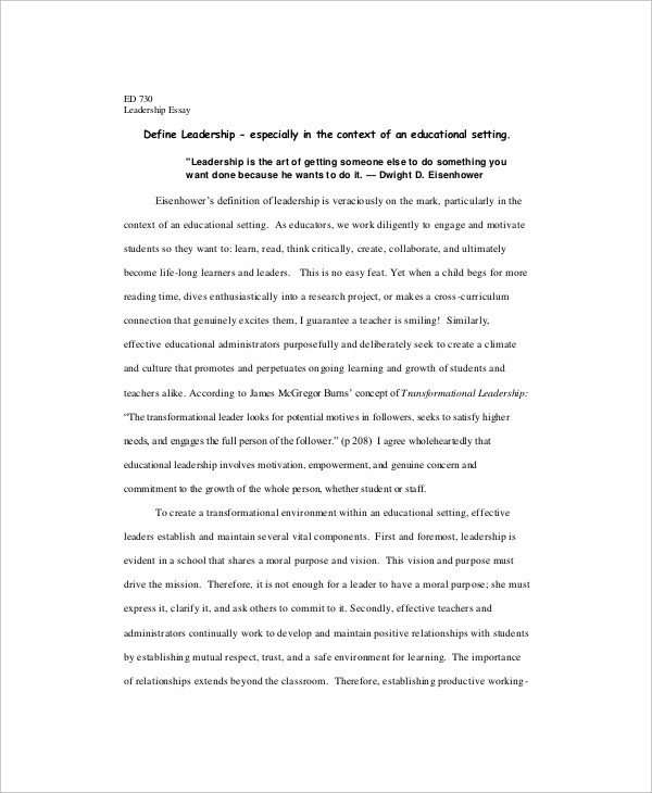 10+ Formal Writing Examples  Samples - PDF, DOC