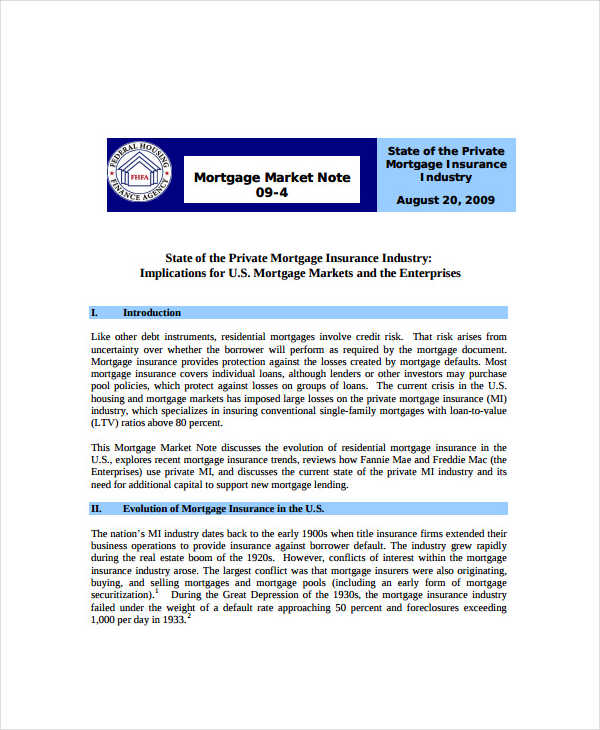 6+ Mortgage Note Examples  Samples - mortgage note