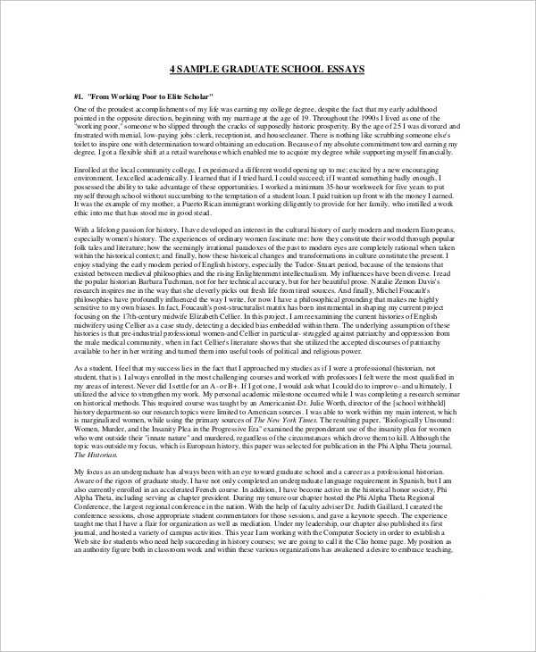 5+ Student Essay Examples, Samples