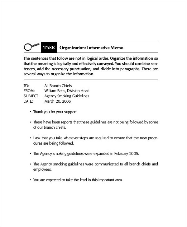 memo example business - Berabdglev - Sample Business Memo