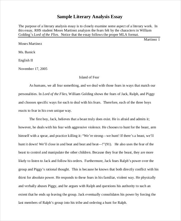 ... Literary Analysis Essay Examples Resume Examples Essay Sample   Example  Swot Analysis Paper ...  Example Swot Analysis Paper