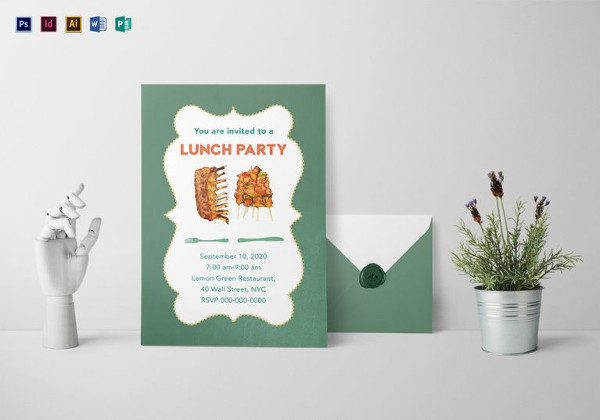 lunch get together invite