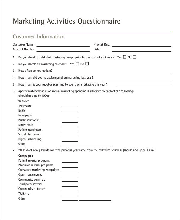 sample marketing campaign – Sample Marketing Campaign