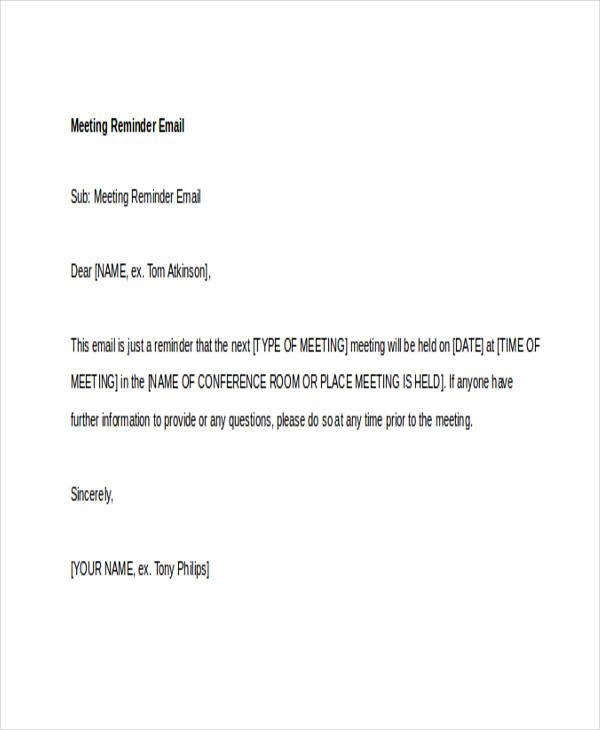 memo samples to staff
