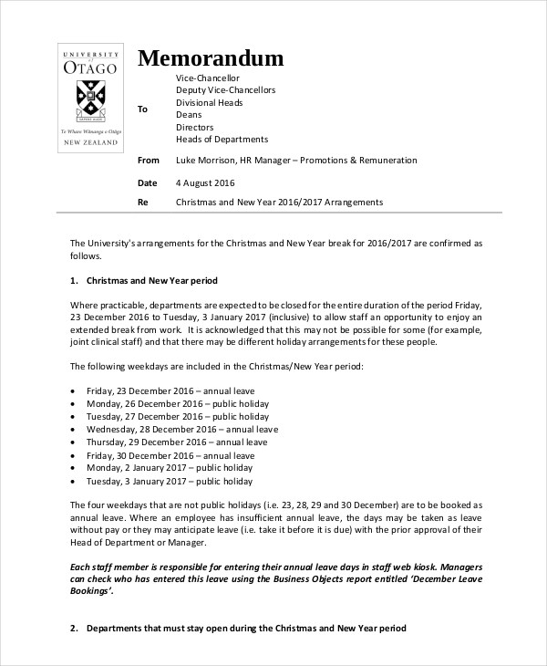 Sample Casual Memo Letter Cover Memo Templates Free Sample Example
