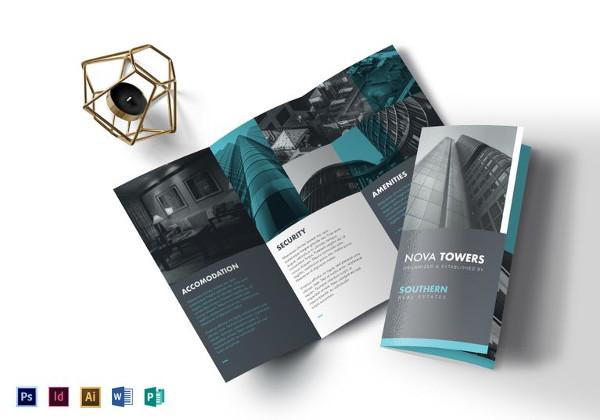 41+ Real Estate Brochure Designs  Examples - PSD, AI, Vector EPS