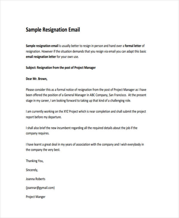 25+ Email Examples  Samples - PDF - professional letter and email writing guidelines
