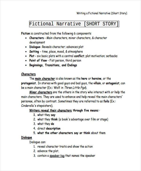 short narrative essay examples