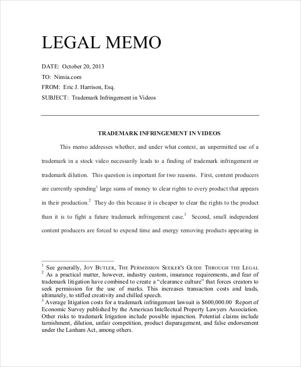 memorandum of law sample xv-gimnazija