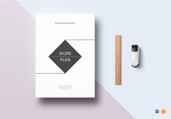 41+ Work Plan Examples  Samples - PDF, Word Examples
