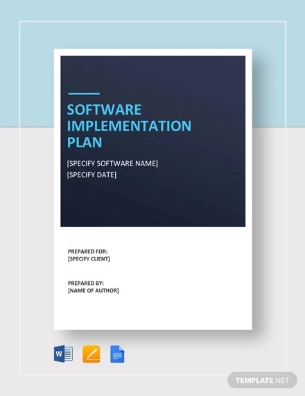 46+ Examples of Implementation Plans - Word, Google Docs, Apple