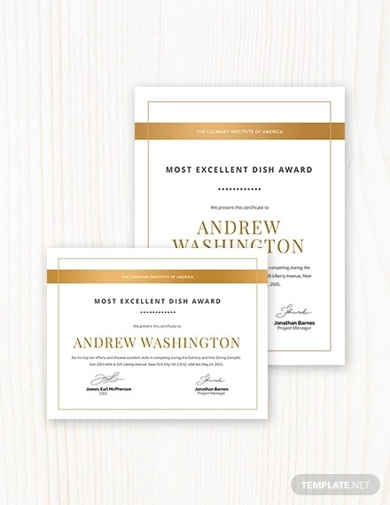 47+ Award Certificate Examples - Word, PSD, AI, EPS Examples