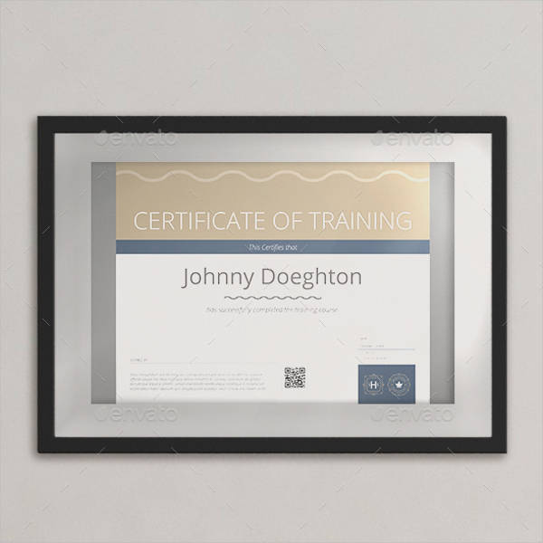 basic certificate template