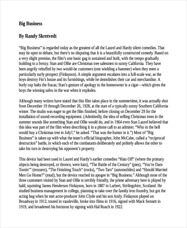 8+ Concept Essay Examples, Samples - essay sample