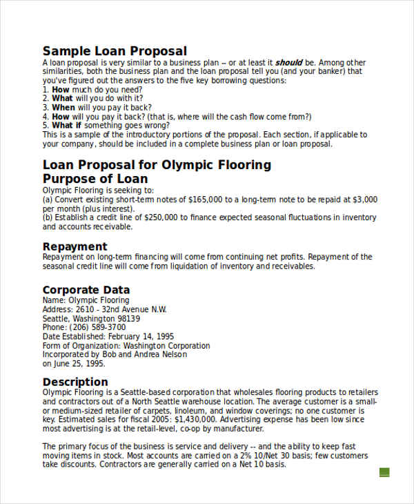 10+ Business Proposals Examples  Samples - business propsal template