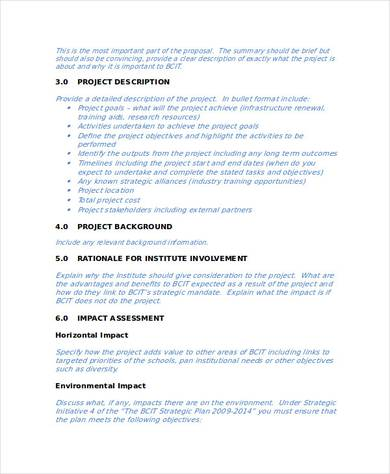 small business project proposal how to write a business proposal