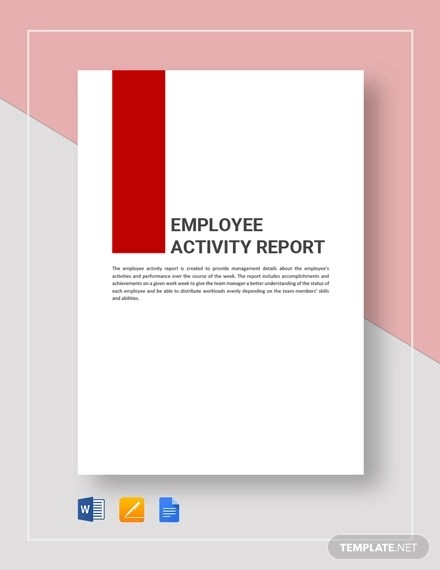 15+ Sample Activity Reports - PDF, Word, Pages, Google Doc Examples