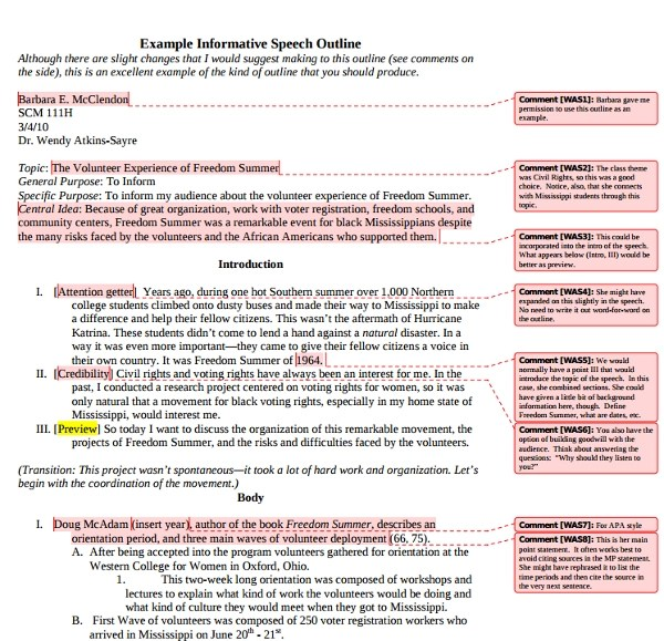10+ Informative Speech Examples  Samples - PDF, DOC Examples