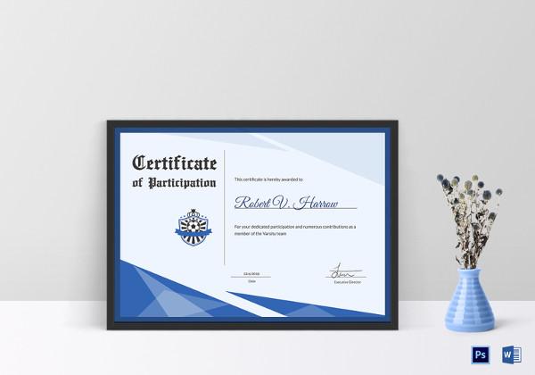 18+ Award Certificates Examples  Samples - certificate samples