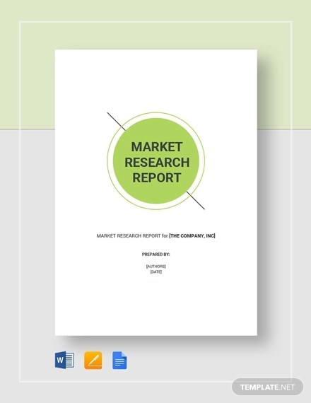 15+ Research Report Examples - PDF, Word, Google Docs, Apple Pages