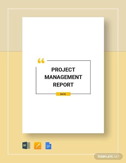 17 + Project Report Examples  Samples - PDF, Word, Pages, Google