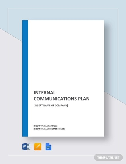 45+ Communication Plan Examples  Samples - PDF, Word Examples