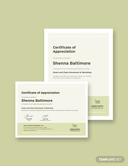 24+ Modern Certificate Examples  Samples - PDF, Word, Pages Examples