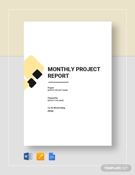 30 + Project Report Examples  Samples - PDF, Word, Apple Pages