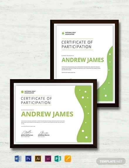 21+ Examples of Sports Certificates - PSD, Word, Pages, PDF Examples
