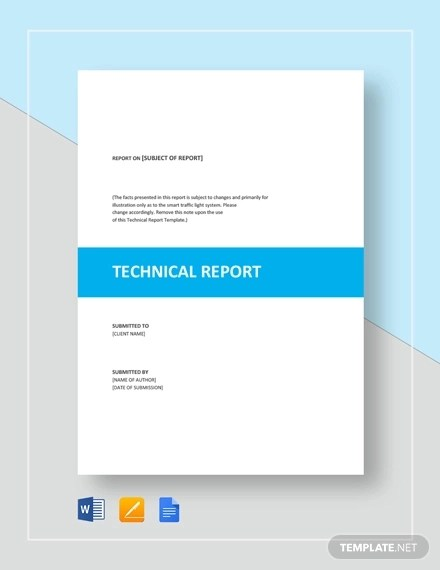 7 Technical Report Examples, Samples Examples