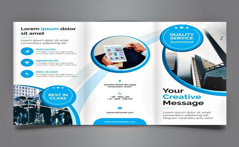 25+ Free Brochure Design Examples - tri fold business brochure