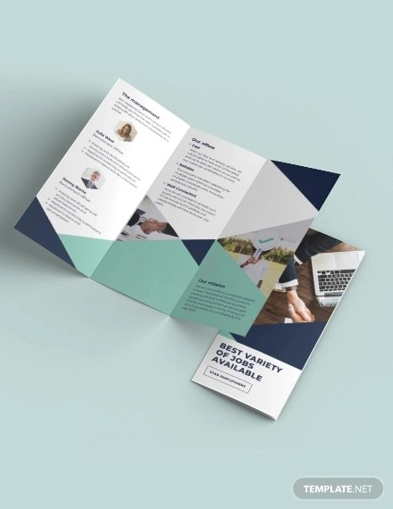 15+ Examples of Recruitment Brochure Design - Editable PSD, AI