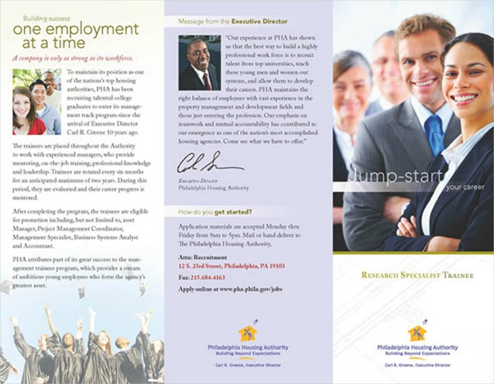 recruiting brochure example