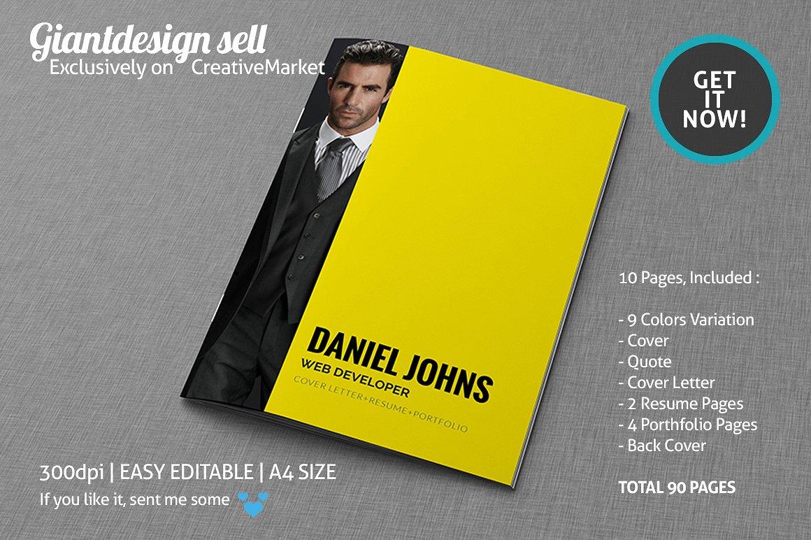 brochure resume samples