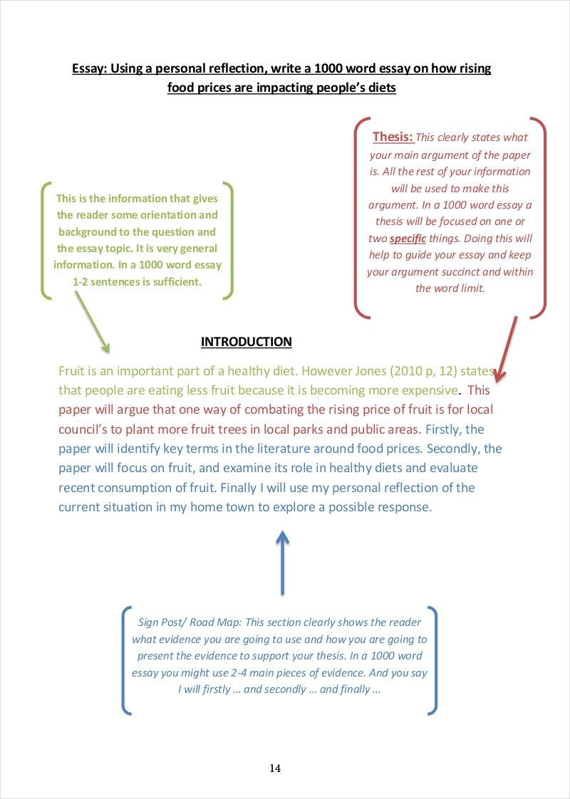 community essay example