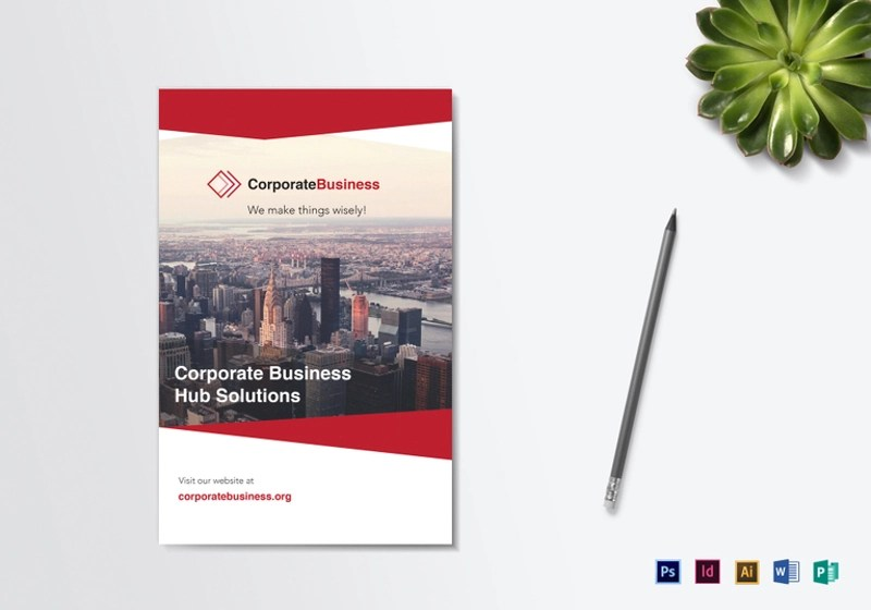 15+ Business Brochure Designs and Examples \u2013 PSD, AI Examples