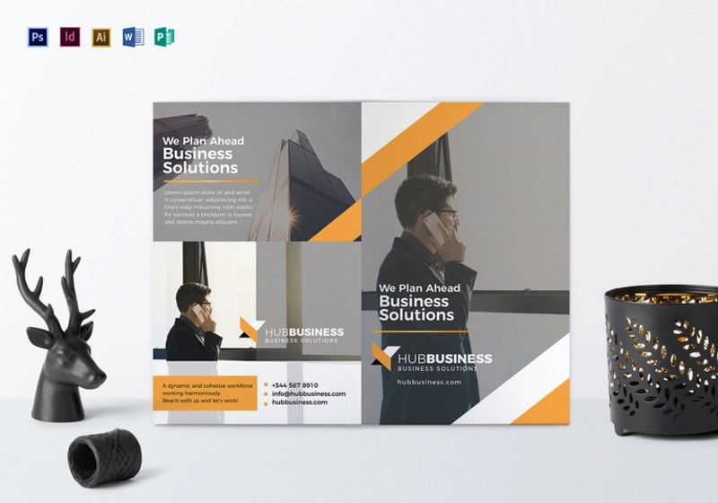 16+ Small Business Brochure Designs  Examples - PSD, AI, EPS Vector