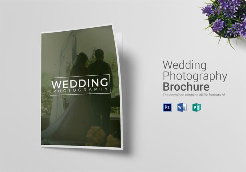 17+ Wedding Brochure Designs  Examples - PSD, AI, EPS Vector - wedding brochure template
