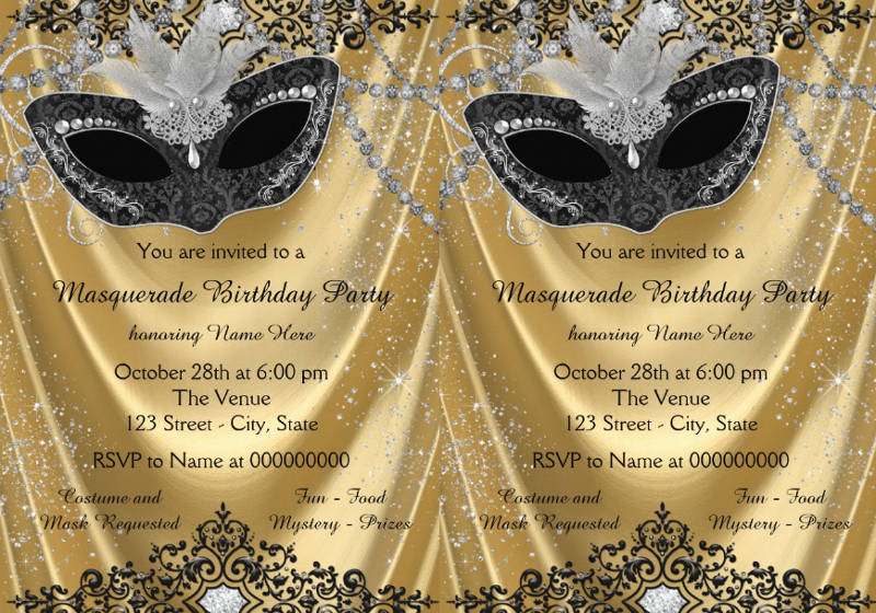 examples of party invitations