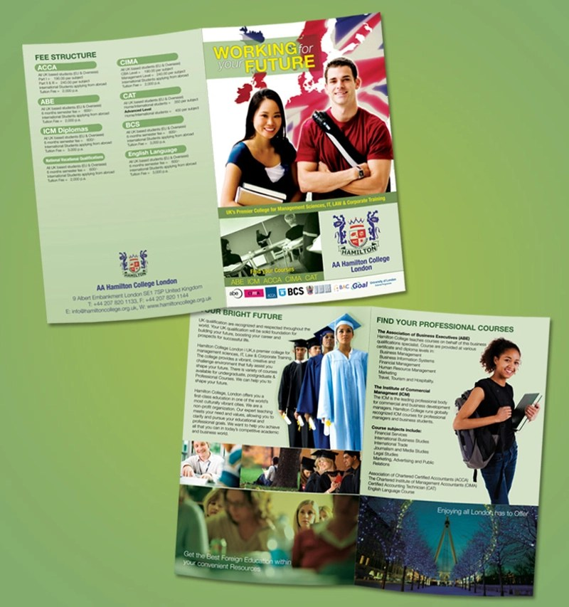 16+ College Brochure Designs  Examples - PSD, AI, EPS Vector