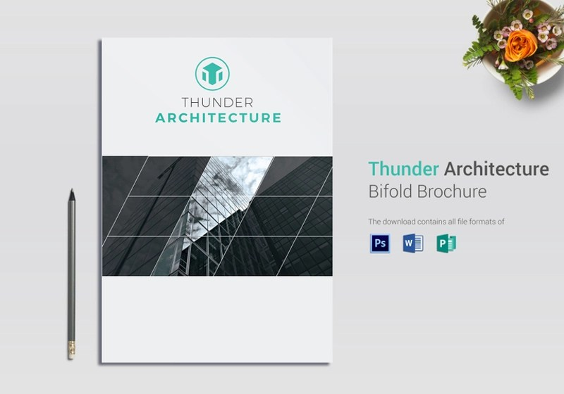 15+ Architecture Brochure Designs  Examples - PSD, AI Examples