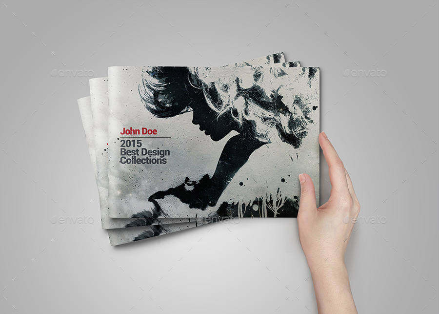 graphic design portfolio cover page examples