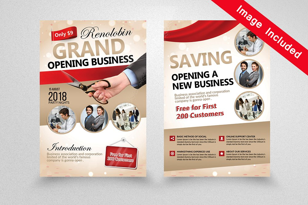 9+ Grand Opening Flyer Designs  Examples - PSD, AI, Vector EPS - grand opening flyer