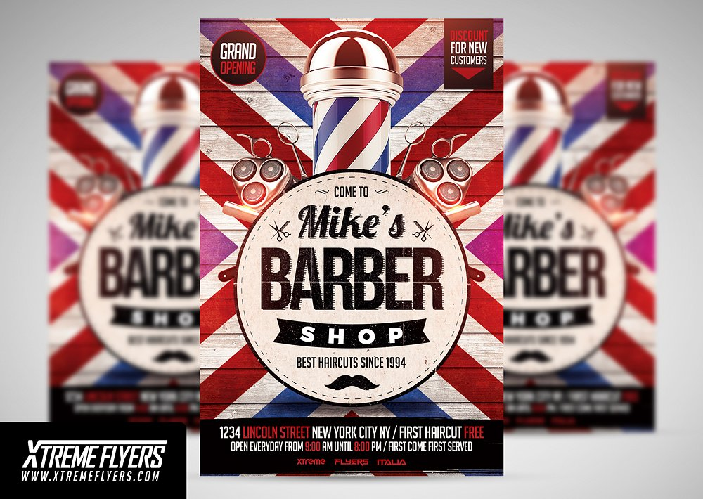 15+ Beauty Salon Flyer Designs  Examples - PSD, AI, Vector EPS - grand opening flyer template