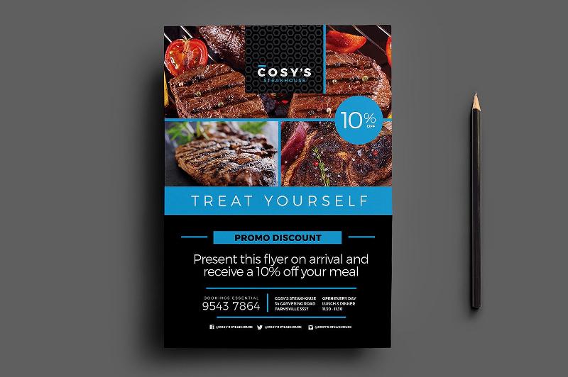 14+ Restaurant Flyer Designs  Examples - PSD, AI, Vector EPS - sample restaurant brochure