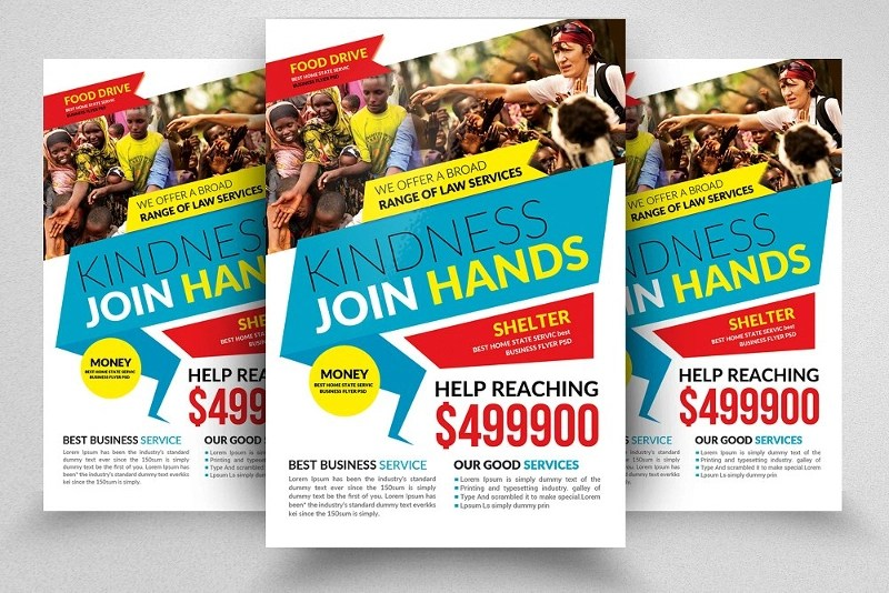 14+ Charity Flyer Designs  Examples - PSD, AI, Vector EPS